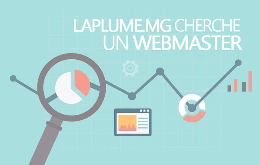 RECRUTEMENT WEBMASTER/DEVELOPPEUR WEB TEMPORAIRE