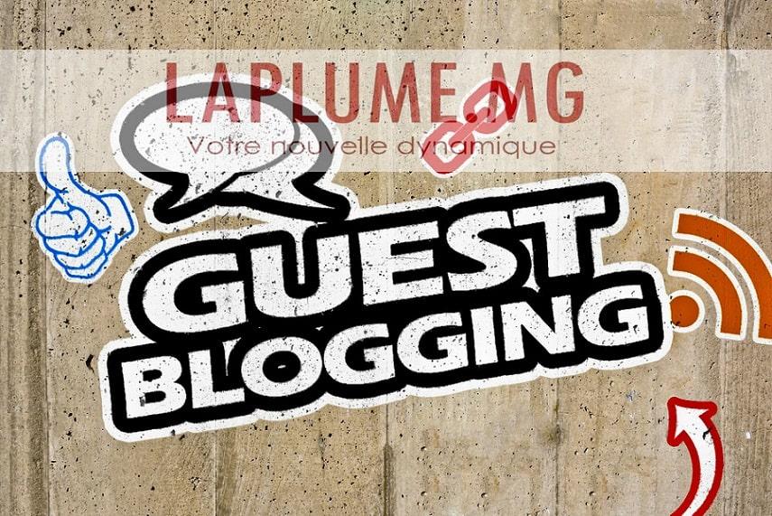 Partenariat guestblogging et article invité avec Laplume.mg