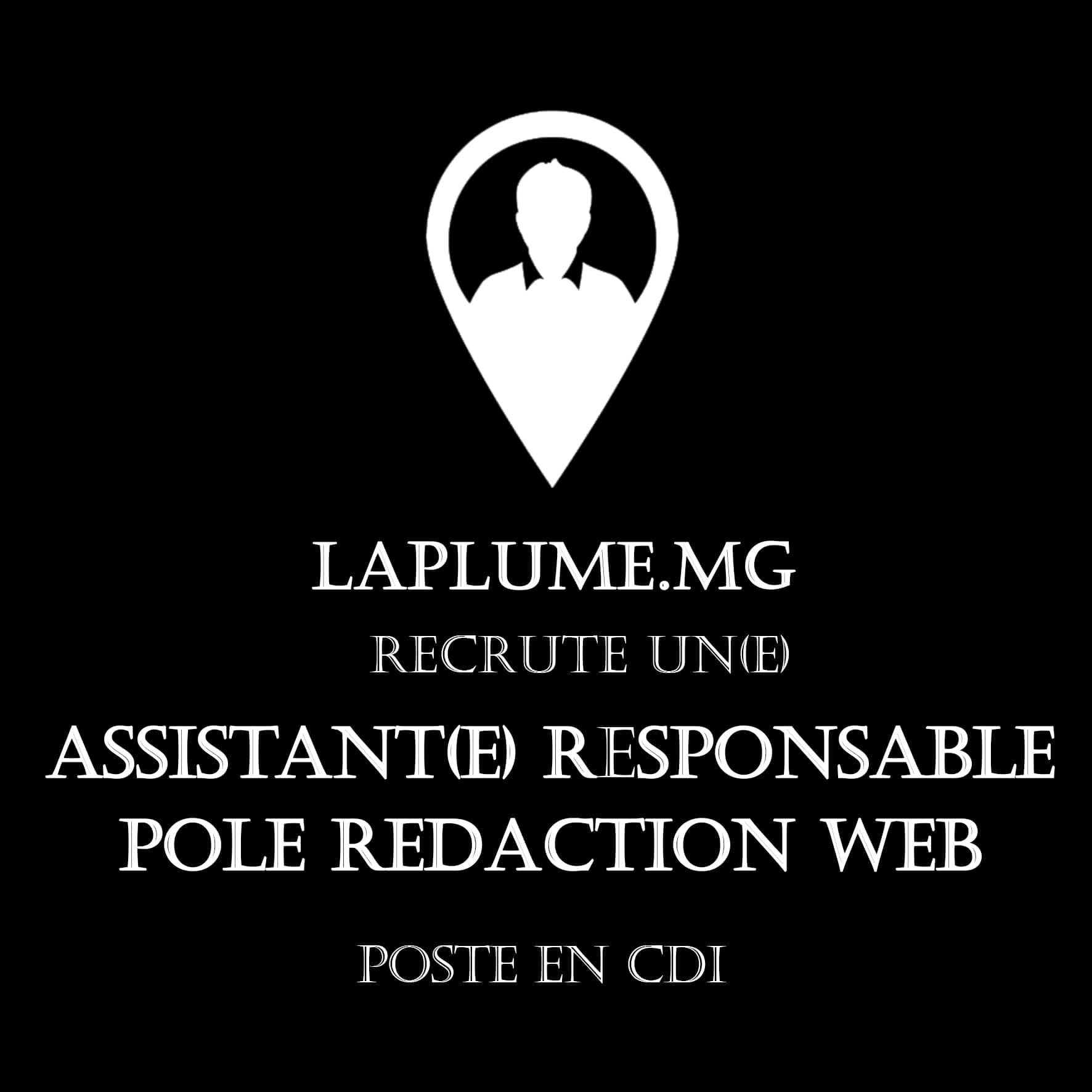 RECRUTEMENT : ASSISTANT.E RESPONSABLE PÔLE RÉDACTION WEB
