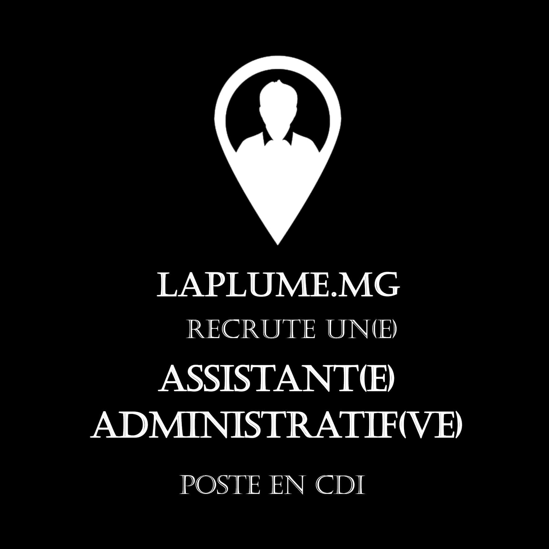 recrutement assistant admin