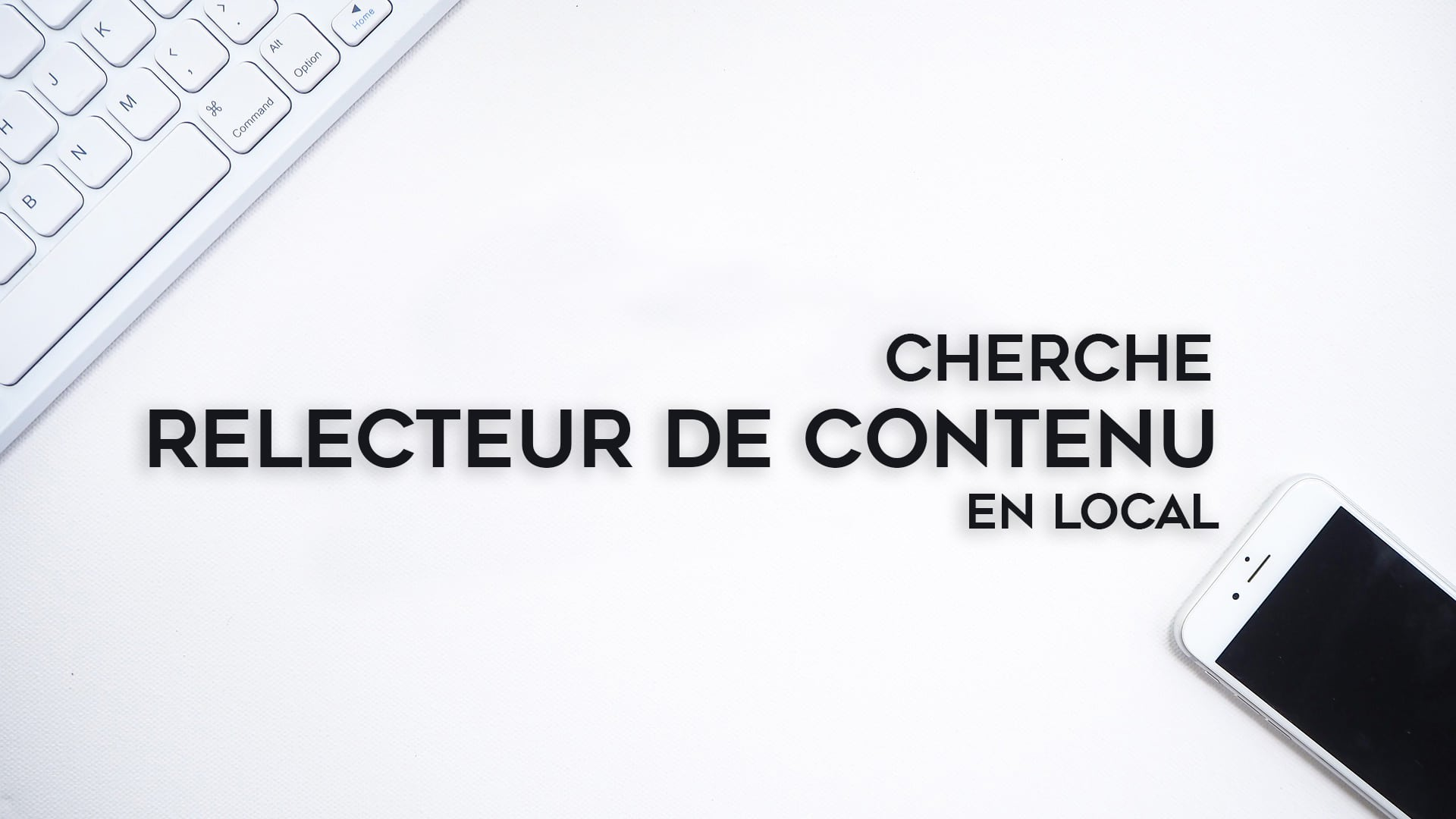RECRUTEMENT : RELECTEUR.TRICE DE CONTENU